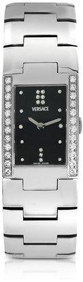 Versace Greca - Ladies' Stainless Steel and Diamond Watch