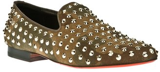 Communication Love 'Bristol' studded slipper