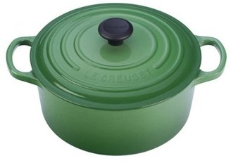 Le Creuset 3.5-qt. Round Signature Enamel Cast Iron French Oven, Fennel Green