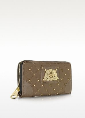 Juicy Couture Quilted Nylon Continental Zip Wallet