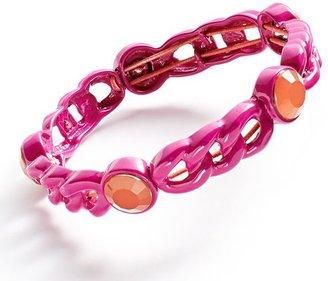 Vera Wang Princess chain stretch bracelet