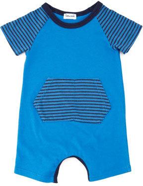 Splendid Littles Fairground Striped Playsuit, Royal
