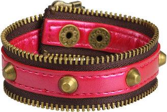 BCBGMAXAZRIA BCBGeneration - Zip Code Bracelet