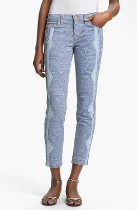 Mary Katrantzou Current/Elliott 'The Printed Stiletto' Jeans
