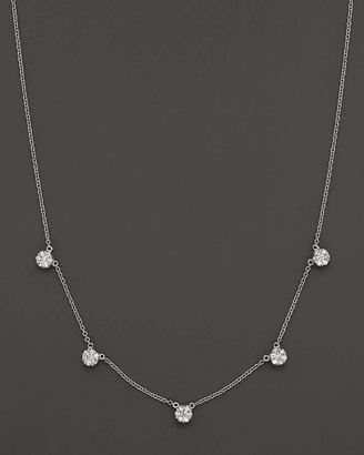 Bloomingdale's Diamond Necklace in 14K White Gold, 0.75 ct. t.w. - 100% Exclusive