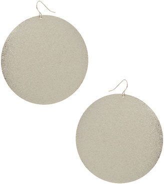Wet Seal Diamond Dust Disc Earring