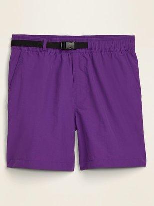 Old Navy Nylon Hybrid-Tech Hiking Shorts for Men -- 6-inch inseam