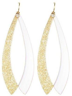 Charlotte Russe Rhinestone Glitter Dangle Earrings