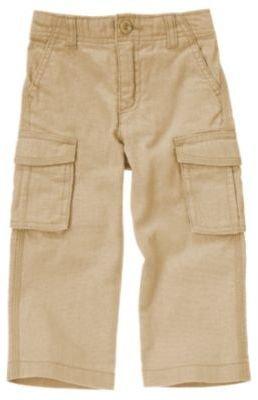 Crazy 8 Linen Blend Cargo Pant