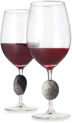 Bed Bath & Beyond Sea StonesTM Wine Glasses (Set of 2)