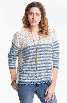 Free People 'French Creek' Slub Cotton Sweater