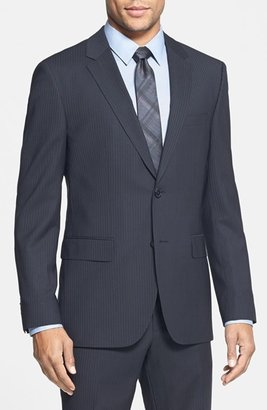 HUGO BOSS 'James/Sharp' Trim Fit Stripe Suit