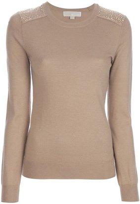 MICHAEL Michael Kors stud detail sweater