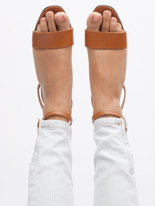 American Apparel Solid Step-In Sandal