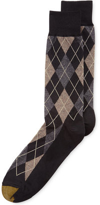 Gold Toe Men's Socks, Village Argyle Single Pack $9 thestylecure.com