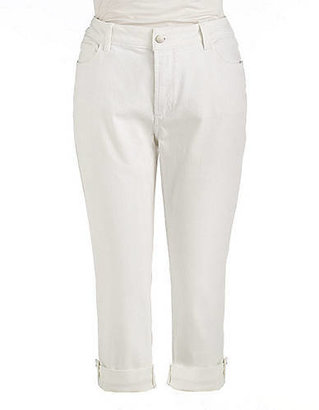 Not Your Daughter's Jeans NOT YOUR DAUGHTERS JEANS WOMENS Plus Carmen Cuffed Jeans