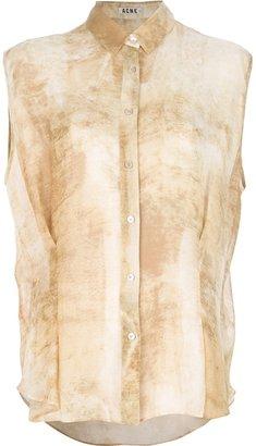 Acne 'Scallop' sleeveless blouse