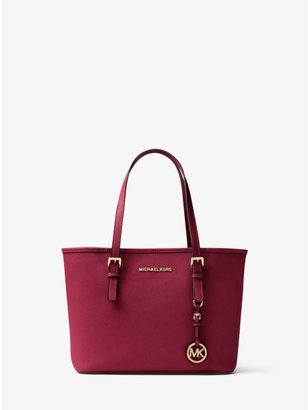 Jet Set Travel Saffiano Leather Small Tote $228 thestylecure.com