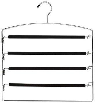 Whitmor 6100-1153 Chrome & Foam Slack Hanger