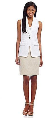 Calvin Klein Jacquard Vest