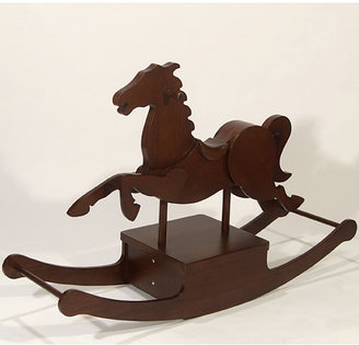 Jumper Heirloom Rocking Horse in Cherry Stain