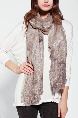 Urban Outfitters Staring At Stars Tie-Dye Jacquard Scarf