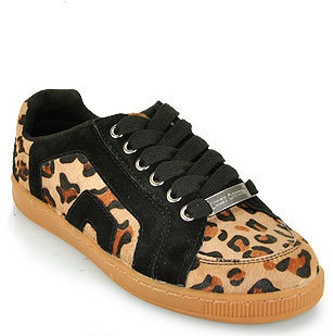 Juicy Couture Darien - Black Leopard Sneaker