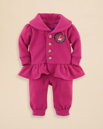 Ralph Lauren Infant Girls' Jacket, Pant & Bodysuit Set - Sizes 3-9 Months