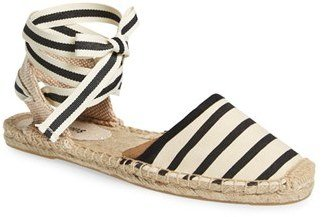 Women's Soludos Lace-Up Espadrille Sandal $54.95 thestylecure.com