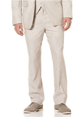 Perry Ellis Big and Tall Pants, Linen-Blend Pants with Coin Pocket