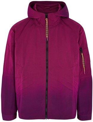 Aries Burgundy Degrade Shell Jacket