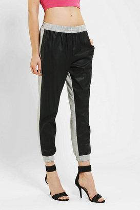 Sparkle & Fade Vegan Leather Sweatpant