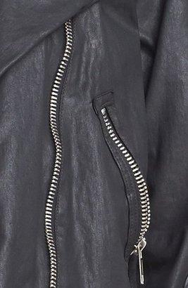 Current/Elliott 'The Soho' Coated Biker Jacket