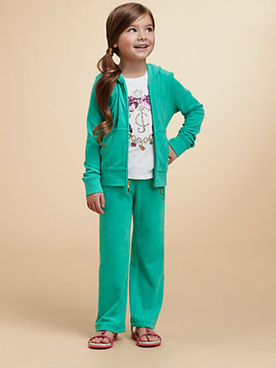 Juicy Couture Toddler's & Little Girl's Embellished Terry Hoodie