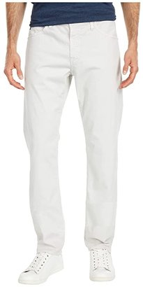 AG Jeans The Graduate Tailored Straight SUD Sueded Stretch Sateen (Sulfur French Grey) Men's Casual Pants