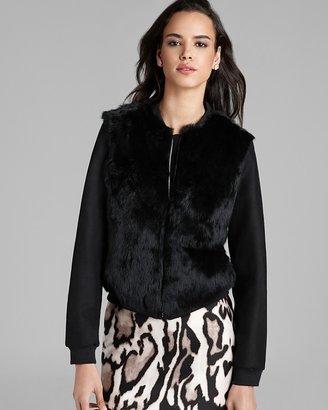 Diane von Furstenberg Jacket - Carrington Fur Front Bomber