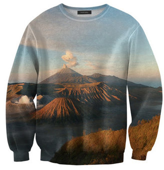 Mr. Gugu & Miss Go Volcano Sweatshirt Unisex