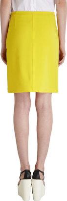 Jil Sander Navy Patch Pocket Skirt