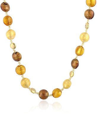 Antica Murrina Frida - Murano Glass Bead Necklace $117.60 thestylecure.com