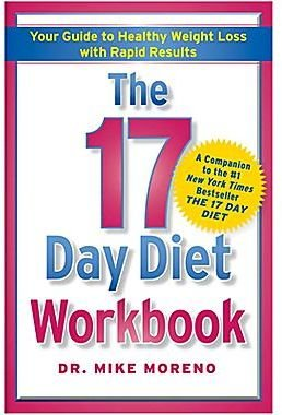 JCPenney The 17 Day Diet Workbook: Your Guide to Healthy Weight Loss with Rapid Results