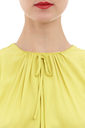 Marni Blouse with Tie Neckline