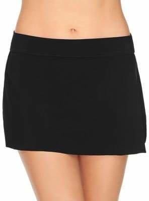 Miraclesuit Magic Suit by Solids Tricot Tennis Skirt Swim Bottoms