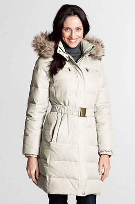 Lands' End Women's Petite Modern Down Coat