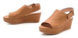 Stuart Weitzman Offset Flatform Open Toe Sandals