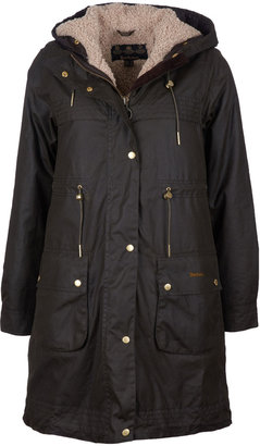Barbour Birches Waxed Drawstring Parka