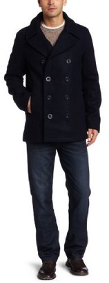 Fred Perry Men's Pea Coat