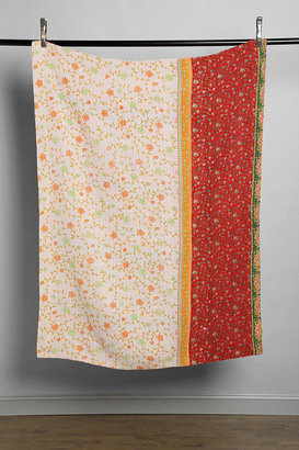 Urban Outfitters Anchal X Urban Renewal Floral Mix Quilt