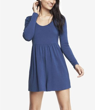 Express Long Sleeve Stretch Knit Romper