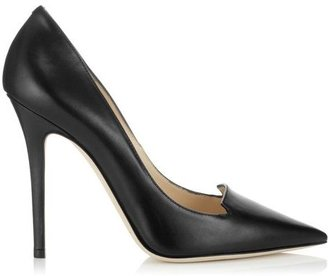 Jimmy Choo Ari Shiny Calf Pointy Toe Pumps