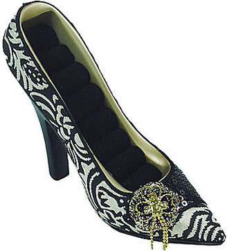 JCPenney Asstd National Brand Black & White Shoe Ring Holder